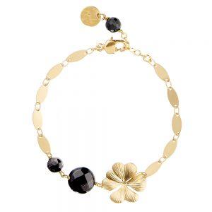 Pepelù four-leaf clover bracelet
