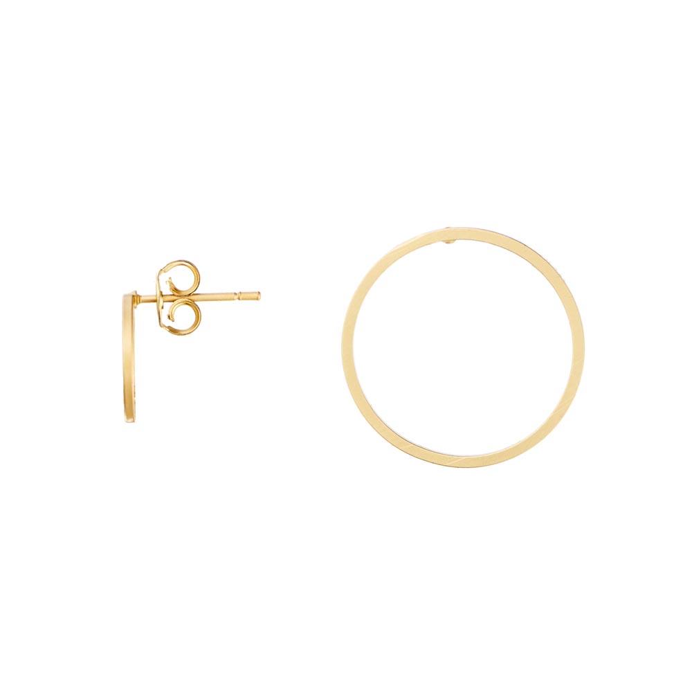 Pepelù - Asymmetrical circle earrings