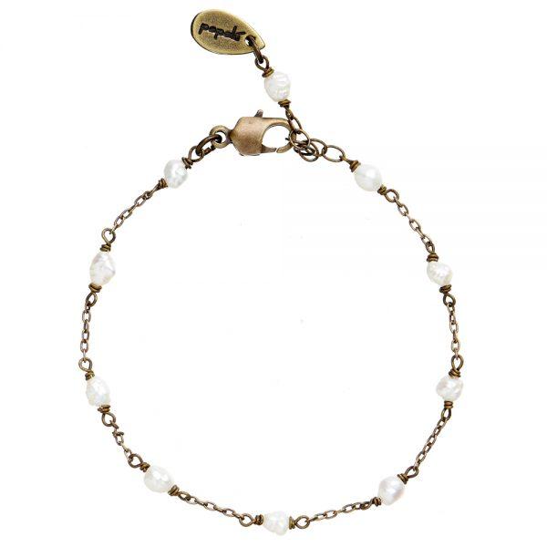 Bracciale perle di fiume Pepelù