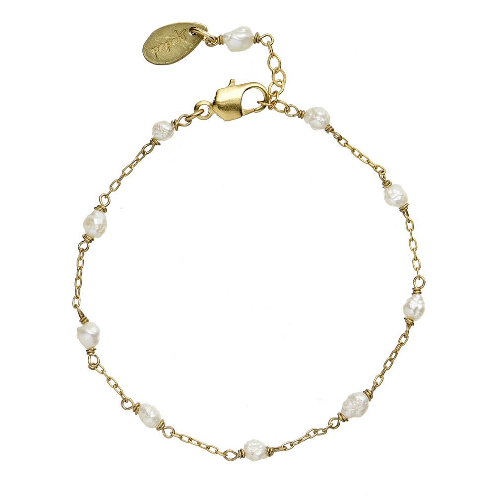 Pepelù - River pearl bracelet