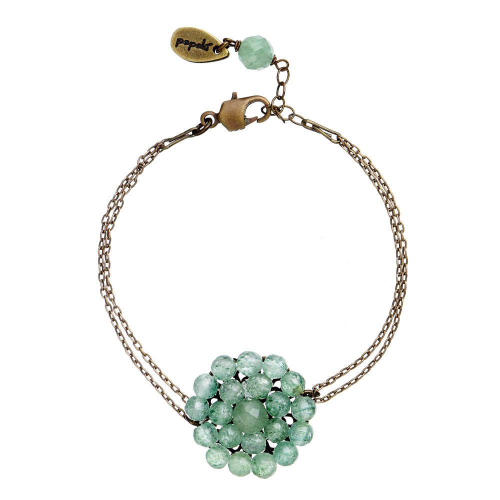 Pepelù - Filigree flower bracelet