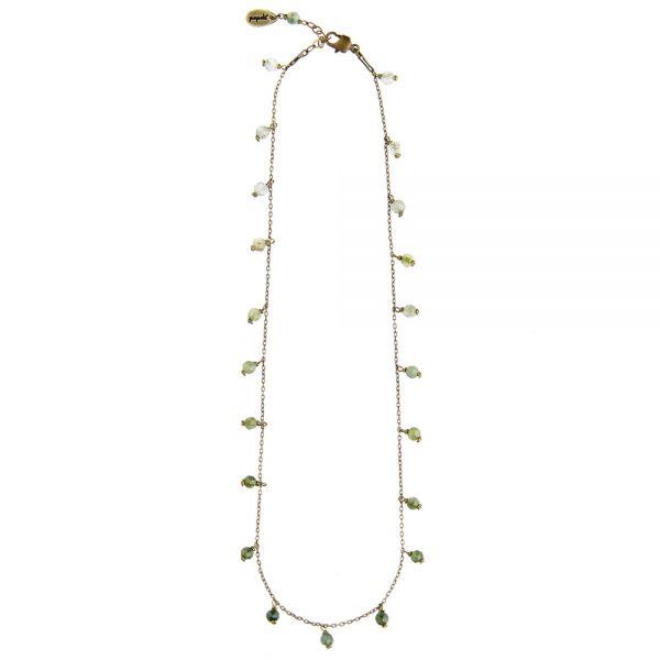 Pepelù - Bon-ton necklace with small hanging stones