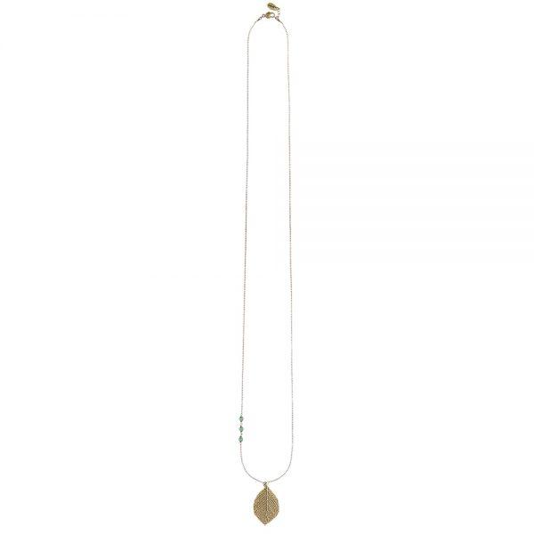 Pepelù - Collana pendente foglia