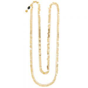 Pepelù - Long gipsy coin necklace