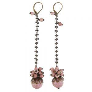 Pepelù - Cluster pendant earrings