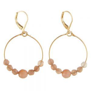 Pepelù - Mini hoop gradient earrings