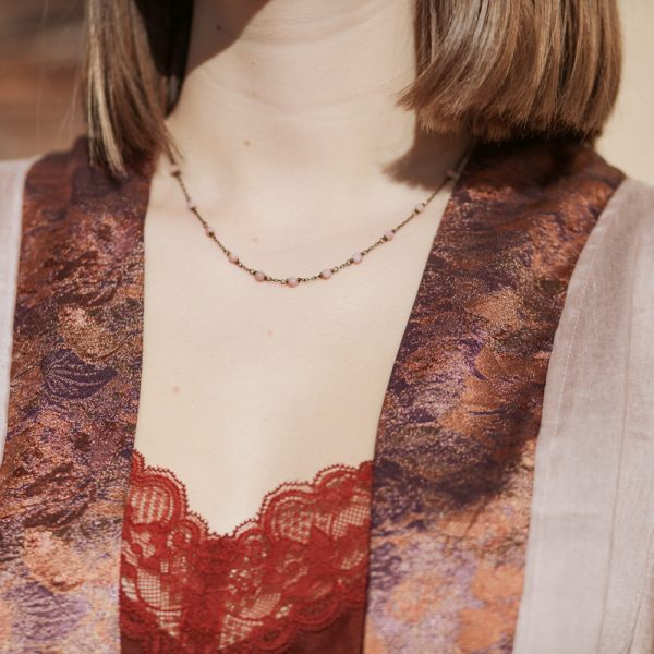 Pepelù - Girocollo rosario degradè