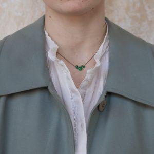 Pepelù - Girocollo punto luce in pietre semipreziose